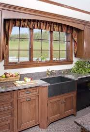 kitchen window design ideas pictures of kitchens traditional medium wood cabinets brown