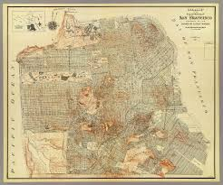San Francisco County Map by San Francisco David Rumsey Historical Map Collection