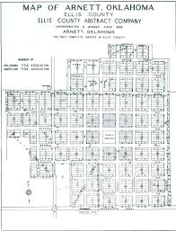 Ellis Park Floor Plan by Arnett Ellis County Oklahoma
