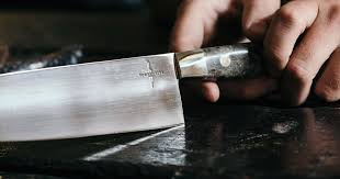 Handmade Japanese Kitchen Knives Town Cutler Superior Handmade Knives From California Insidehook