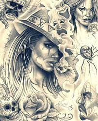 best 25 chicano art tattoos ideas on pinterest chicano drawings