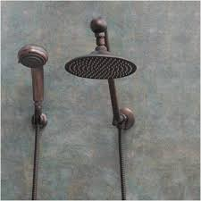 atlantis 6 rub bronze shower combination fixed