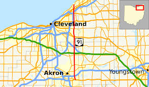 Map Oh Ohio by Ohio State Route 91 Wikipedia