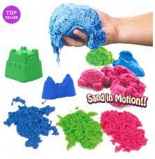 Kinetic Sand Colour 2 5kg Bundle Red Blue Green Kinetic Sand