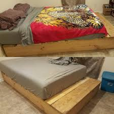 Diy Platform Bed Plans Video by Diy Platform Bed For Under 20 00 Youtube