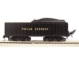 lionel ho polar express locomotive and tender with remote 6 58018