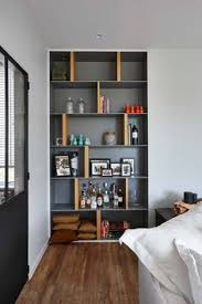 concepts in home design wall ledges custom midcentury style geometric room divider divider room and