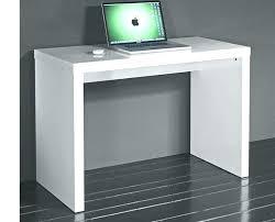 bureau ordinateur blanc laqué bureau laque blanc design bureau laquac blanc design meuble bureau