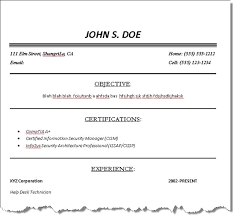 quick resume template unforgettable fast food server resume