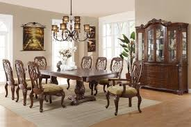 dining room set with hutch brown glass buffet hutch steal a sofa furniture outlet los