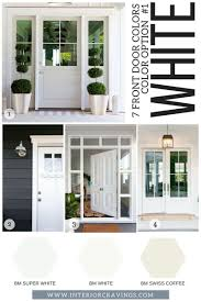 front door colors for gray house 7 front door colors to make your home stand out interior