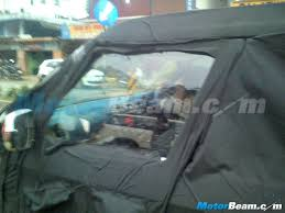 bentley kerala mahindra u301 snapped in kerala spied