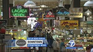 Furniture Stores In Los Angeles Downtown Downtown La U0027s Grand Central Market Offers A Variety Of Flavors