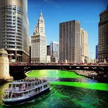 impressive photos of the chicago river on st patrick u0027s day