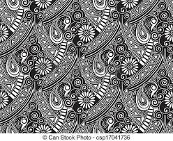 vectors of seamless vector paisley wallpaper csp17041736 search