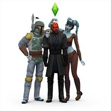 the sims 4 update adds darth maul boba fett and aayla secura