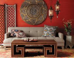 Moroccan Inspired Curtains Moroccan Style Living Room With Chandelier And Sofa Also Cushion