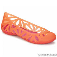what compliments pink rare crocs iii pink united kingdom flat shoes ballerinas adrina flat
