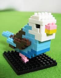 mini lego parakeet by girlygamergeek deviantart com lego