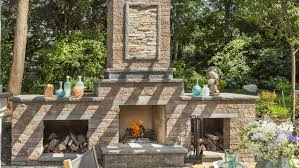 an outdoor fireplace for your long island home the platinum