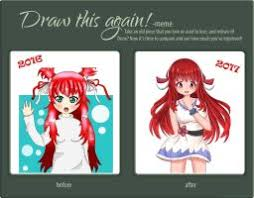 Draw It Again Meme - draw this again template by omenaadopts on deviantart