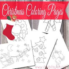578 christmas coloring pages images christmas