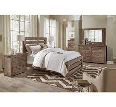 Sorrento Bedroom Furniture Homestead 5pc Queen Slat Bedroom Group Badcock U0026more