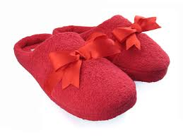 great selection of novelty slippers for her women s house slippers bow red