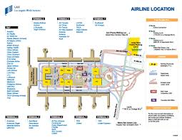 Washington Dc Airports Map by Lax Airport Terminal Map My Blog