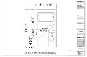 Design A Bathroom Floor Plan Bathroom Decorative Small Narrow Bathroom Floor Plans Emejing