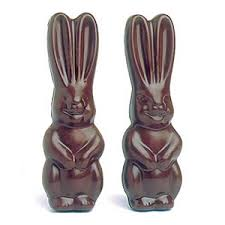 chocolate rabbits polycarbonate chocolate mold big eared rabbit 2 pc front back