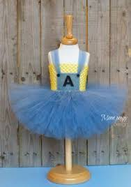 Minion Tutu Dress Etsy Blue Pink Minion Halloween Costume Minion Birthday Party