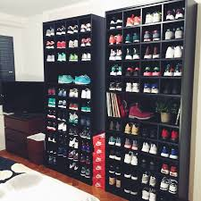 awesome ideas sneaker shelves delightful decoration sole stacks