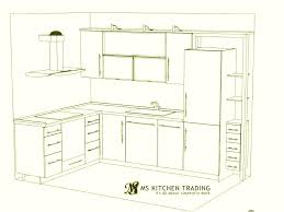 Small Kitchen Floor Plans Floor Plans For Small Kitchen Ideas L Shaped Kitchen Floor Plans 2