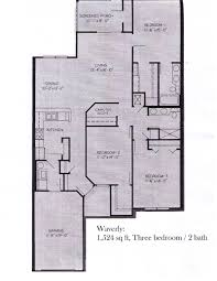 The Ansley Floor Plan Asbury Park Apartments In Gainesville In Town Convenience