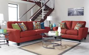 Loveseat Hide A Bed Contemporary Sofa With Shaped Track Arms By Signature Design By