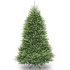national tree unlit 7 dunhill fir hinged artificial