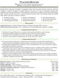 Resume Samples For Teacher by Resume Samples Types Of Resume Formats Examples And Templates