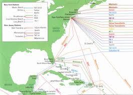 Virginia Beach Maps And Orientation Virginia Beach Usa by Eyeballing Us Transatlantic Cable Landings