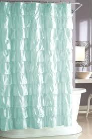 Bright Green Shower Curtain Bright Yellow Ruffle Shower Curtain Shower Curtains Design