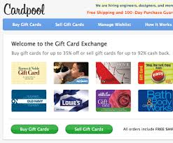 sell your gift cards online 5 great websites to sell buy gift cards