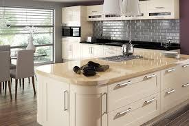 100 kitchen with cream cabinets soft orange cream ceiling