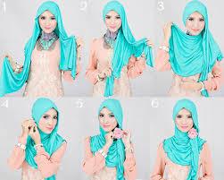tutorial hijab pashmina kaos yang simple macam macam tutorial hijab pashmina simple dan stylish
