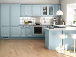 cuisine bleue et blanche cuisine colorée découvrez toutes nos inspirations