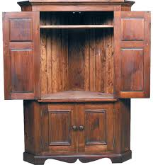 Antique Corner Desk by Antique Armoire With Mirror Careful Designs Your Corner Tv Unit