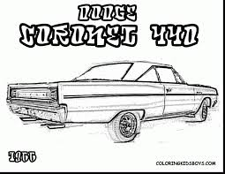 marvelous dodge truck coloring page with rod coloring pages