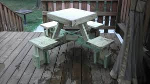 Plans For Wooden Picnic Tables by Build An Awesome Floating Picnic Table