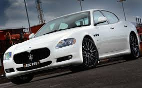 white maserati wallpaper maserati quattroporte luxury sports car widescreen wallpaper