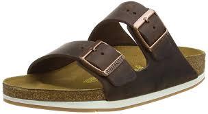 sale birkenstock men u0027s arizona 2 strap cork footbed sandal