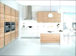 cuisine facade bois bois flotte ikea suspension miroir cuisine design installation ez
